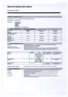 Material Safety Data Sheet for Draper Fuel Tank Repair Putty 31033 (DFTRP)