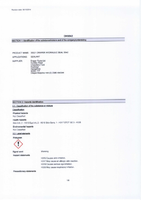 Material Safety Data Sheet for Draper D542 Hydraulic Seal 33321 (DHS542)