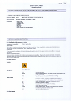 Material Safety Data Sheet for Draper 400ml Mr D's Moisture Dispersant 41921 Mr-ds